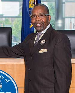 Mayor Thaddeus Kirkland, Director of Public Affairs