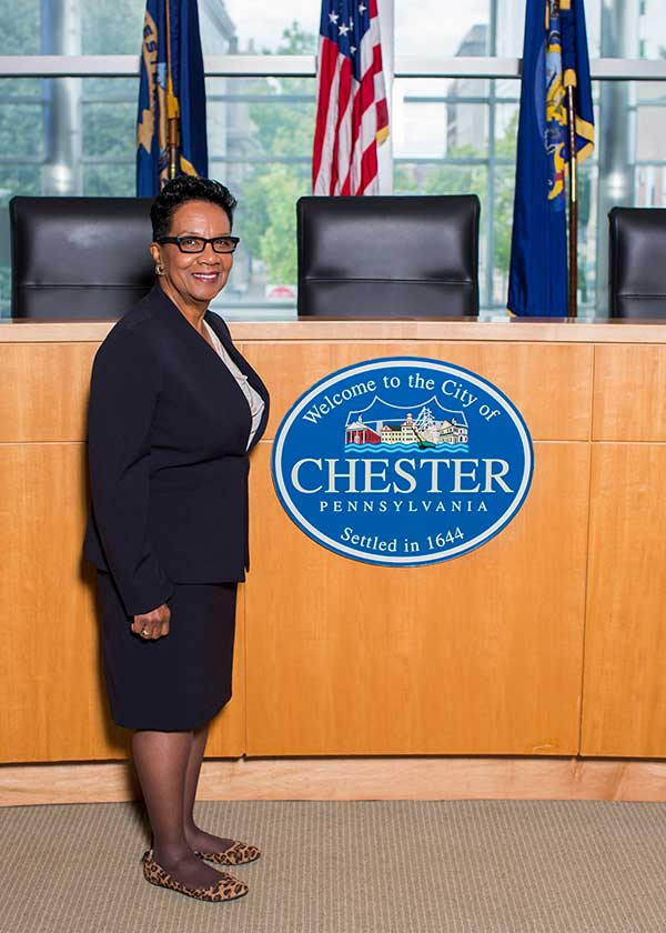 Councilwoman Portia West