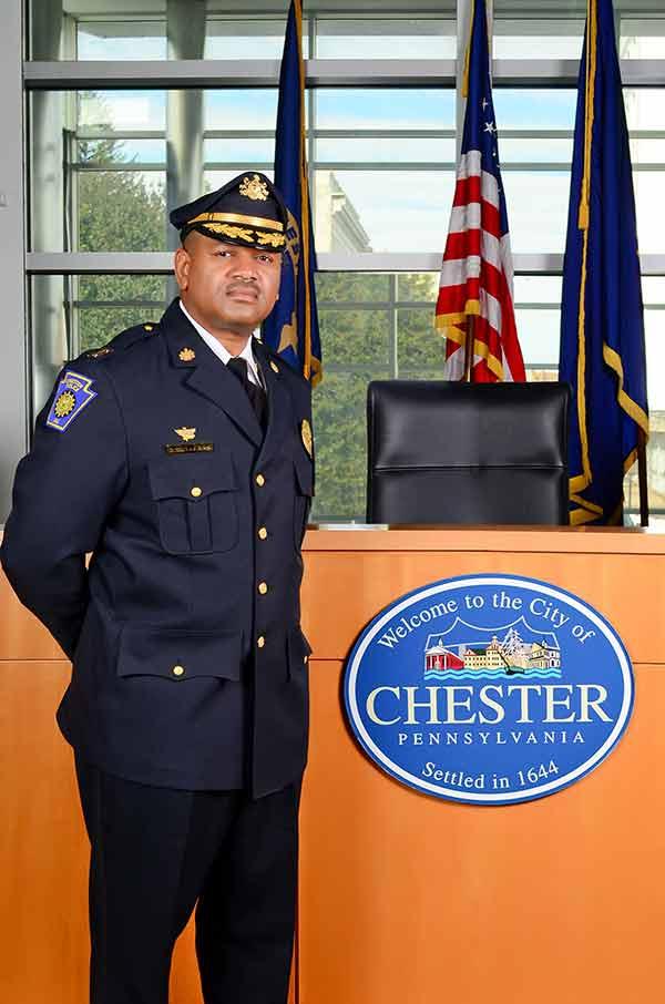 Darren L. Alston, Police Commissioner