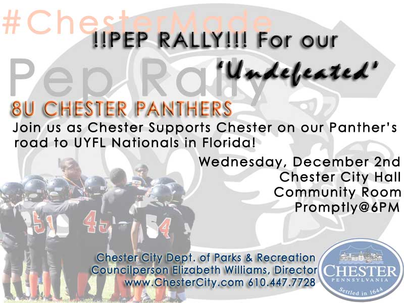 Pep Rally for Chester Panthers