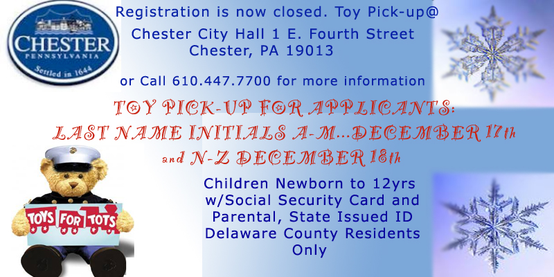 Toys For Tots Pickup : Toys for tots pickup a through m city of chester
