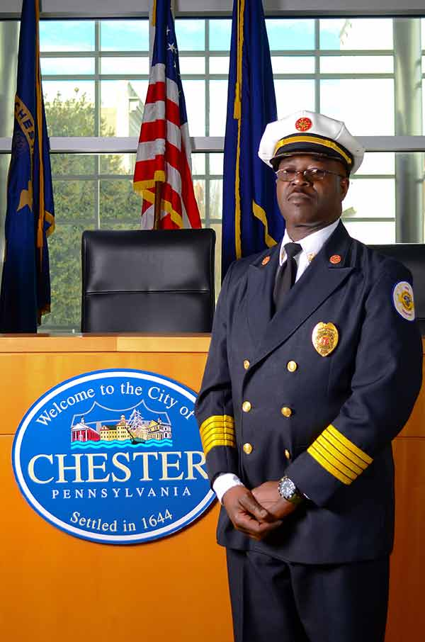 Travis E. Thomas, Fire Commissioner