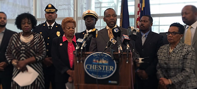 AmTrak Incident Press Conference