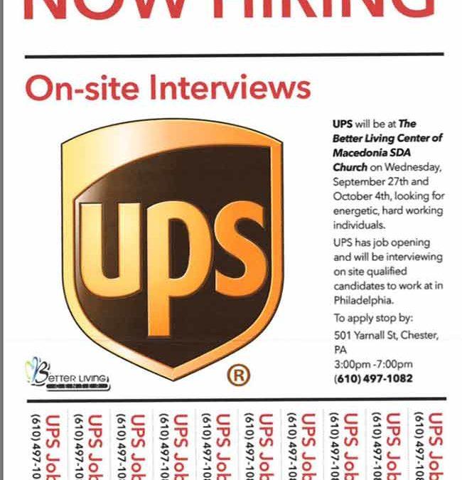 UPS Jobs