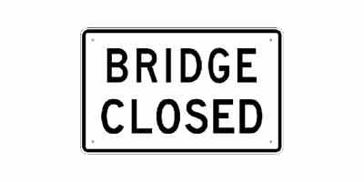 7th Street Bridge Closure