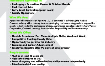 Agri-Kind ( Multiple Positions Available)