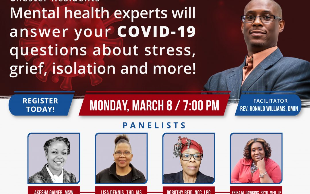 Chester Board of Health's 2nd COVID-19 Webinar Set for March 8