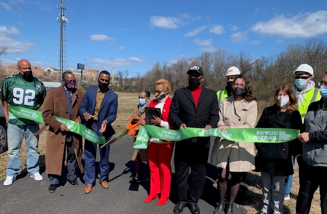 City of Chester Unveils Eyre Park Levee Walk Trail Project
