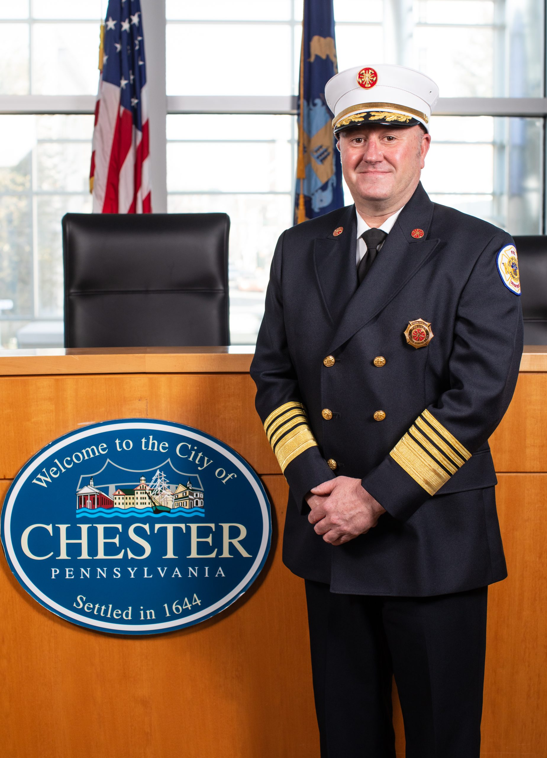 Travis E. Thomas, Fire Commissioner
