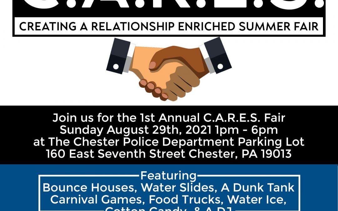 1st Annual C.A.R.E.S. Fair Set for August 29