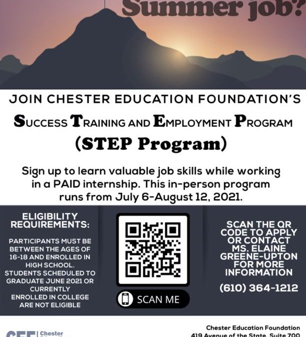 Youth Employment (STEP Program)